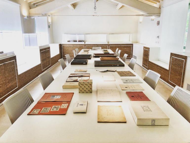 Sala consultazione. Archivio Storico Magnani