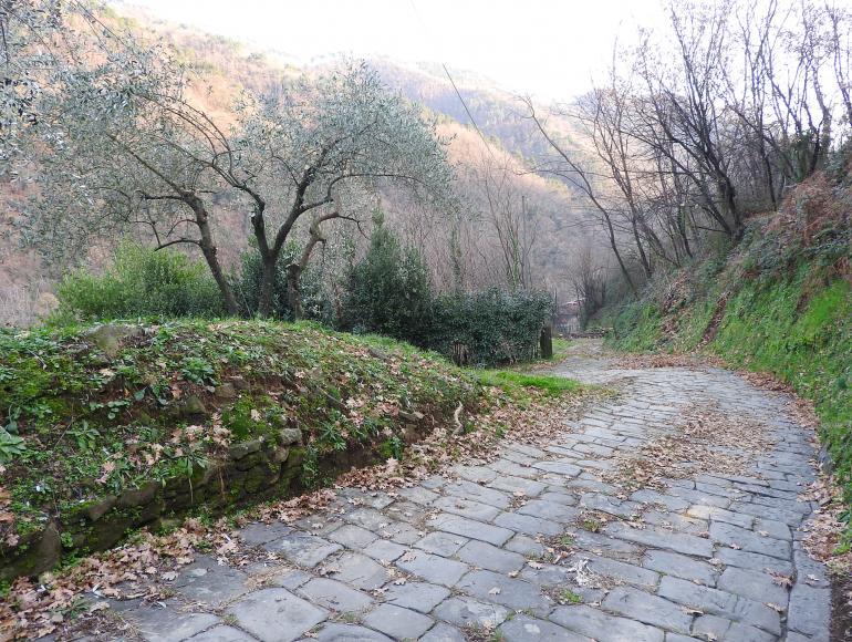 """Sentiero dei """"Mastri Cartai"""" a Villa Basilica"""